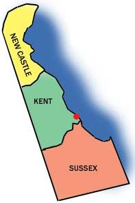 Delawarecountiesmap