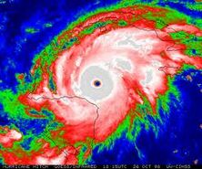 Hurricane Mitch (1998) - IR