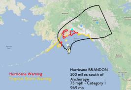 Hurricane BRANDON