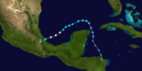 2015 Atlantic hurricane season (Ryne, Steven, Andrew, Azure and NDB)