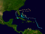 Hurricane Nadine 2013 Path.png