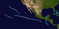 2050 Pacific hurricane season (Bob)