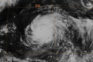 File:Typhoon Kent on August 12, 1992 near peak intensity.jpg