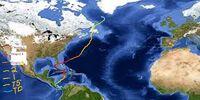 2060 Atlantic Hurricane Season Cyclone 4 Hurricane Dwight