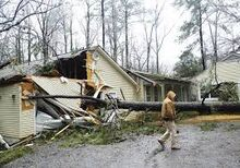 Possible Tornado Damage