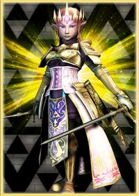 Zelda outfit queen
