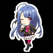 (2nd Anniversary Scout) Runa Kagurazaka SD Kiss