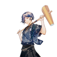 (New Year Scout) Aoi Kakitsubata LE Transparent