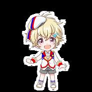 Akari Tori SD Pose