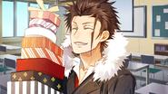 (Valentine's Day Scout) Tsubaki Rindo SR Affection story 3