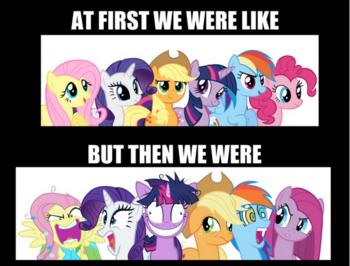 Insaine ponies