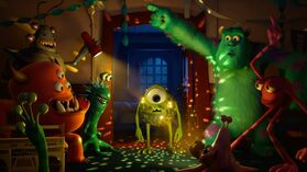 3969 Party-at-the-University-Mike-Wazowski-is-a-disco-ball