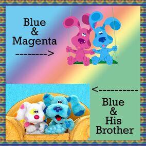 Blue PhotoFrame 1