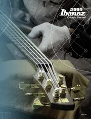 2009 USA electric bass catalog front-cover