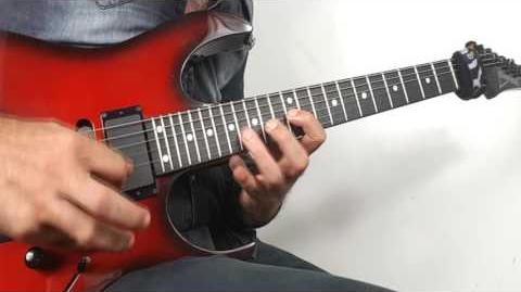 Warming Up on Ibanez Rg 570 Japan