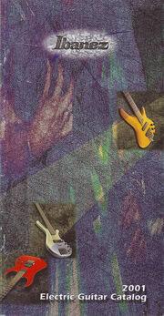 2001 Mini Catalog front-cover