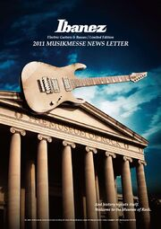 2011 Musikmesse newsletter front-cover