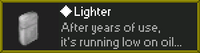 Lighter des