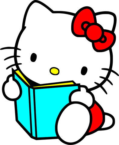 File:Hello Kitty with Book.png