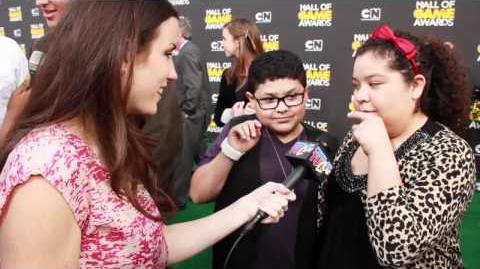 Shaq & iCarly at Hall of Game Awards 2012