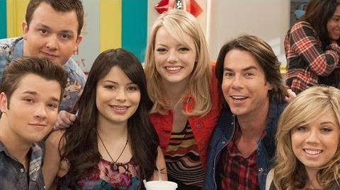 """iCarly"" Cast Talks Emma Stone Guest Starring on ""iFind Spencer Friends"""