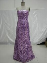 Carlys purple dress