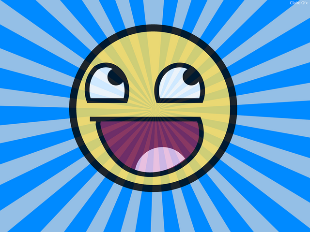 File:Awesome Face Wallpaper by TheFink.png