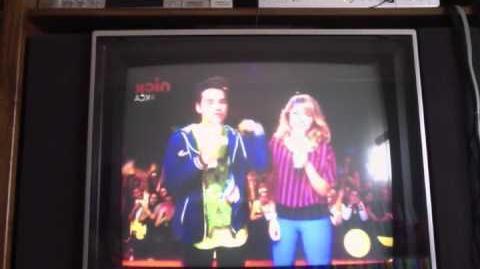 Nathan and Jennette get Slimed KCA 2011