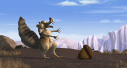 Scrat reunited with acorn