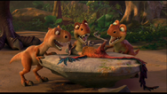 Baby dinos about eat flightless