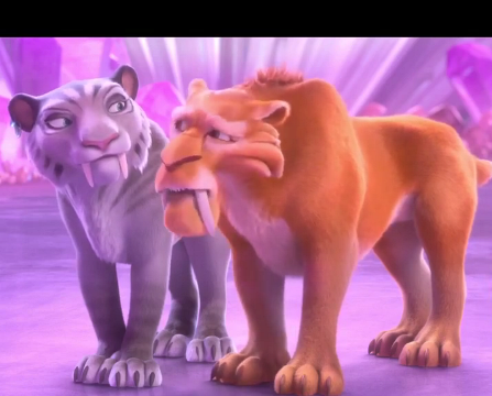File:Ice Age Collision Course Diego and Shira.png
