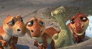 Baby Dinos Making Sad Faces at Sid