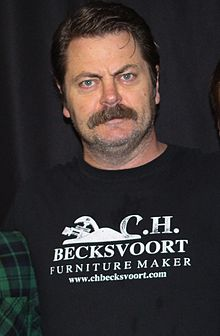 Nick Offerman at UMBC (cropped)