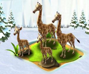 Complete val giraffe