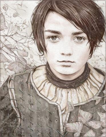 File:Arya stark by an7dash.jpeg