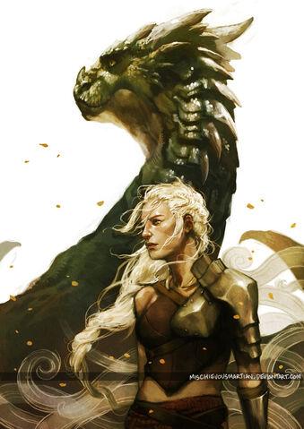 File:Daenerys by mischievous martian.jpeg