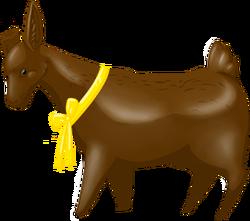 Cow chocolatebunny