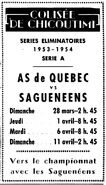 53-54QHLSFChicoutimiGameAd