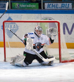 Ján Laco and Alexander Krysanov 2012-01-10 Amur—Lev KHL-game.jpeg