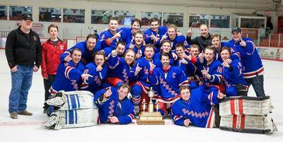 2016 NCHL champs Moosomin Rangers