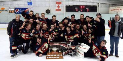 2015 SJJHL champs SJ Caps