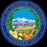 Anaheim, California Seal