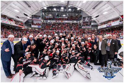 2016 QMJHL champs Rouyn-Noranda Huskies