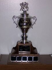 Treaty Six Hockey League championship trophy