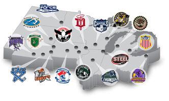 USHL Map 2016-17