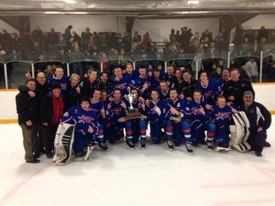 2016 HJBHL champs Mountainview Colts