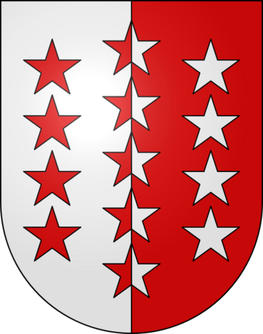 File:Coat of arms of the canton of Valais.png