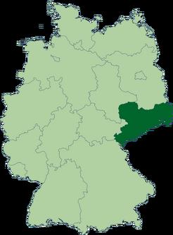 443px-Deutschland Lage von Sachsen svg