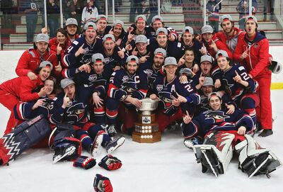 2017 AJHL Champs Brooks Bandits