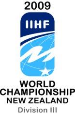 2009 IIHF World Championship Division III Logo